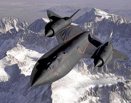 SR-71 Blackbird Lockheed