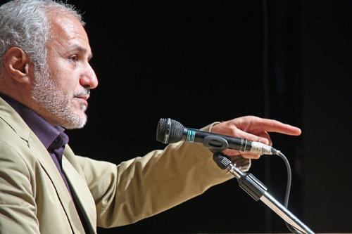 سخنرانی استاد عباسی در محفل سینمای انقلاب