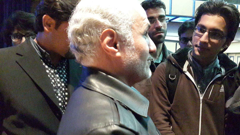 سخنرانی استاد عباسی در دانشگاه شهید بهشتی