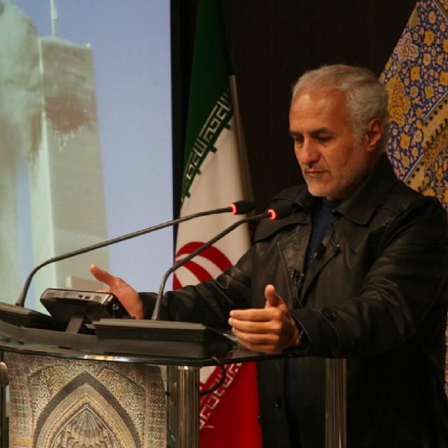 استاد حسن عباسی در نشست مجمع جهانی مستضعفین