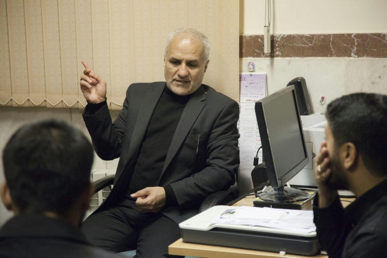 دیدار استاد حسن عباسی با بسیجیان استان قزوین