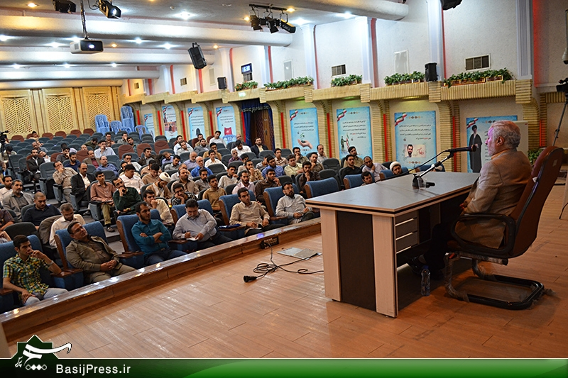 سخنرانی استاد حسن عباسی در کارگاه آموزش عملیات روانی اعضای شبکه جهاد فرهنگی
