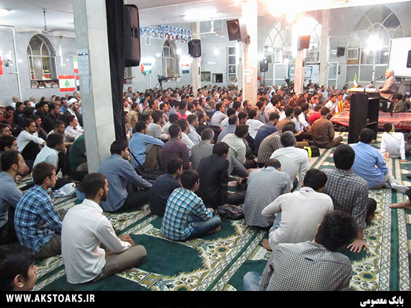 سخنرانی استاد حسن عباسی در اسلامشهر - مقاومت منفی ۳۶۴