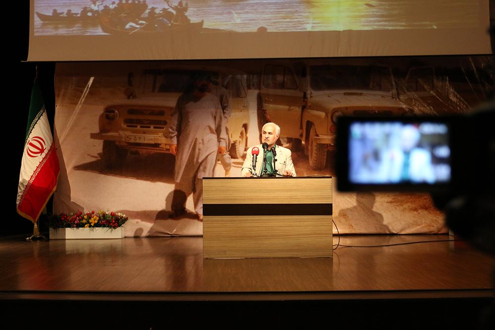 IMG 1738 گزارش تصویری؛ سخنرانی استاد حسن عباسی در یادواره مجاهد فرهنگی بدون مرز انقلاب اسلامی؛ شهید سید محمد علی رحیمی