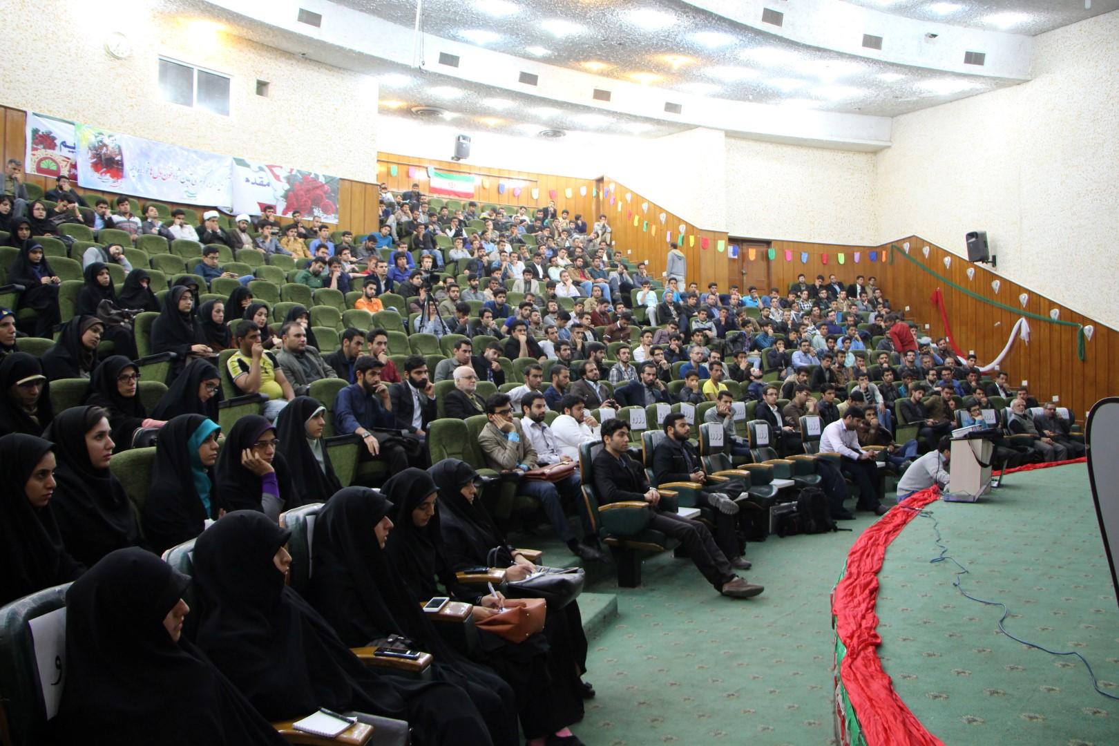 سخنرانی استاد حسن عباسی در دانشگاه شهید چمران اهواز - از چوئن لای تا سیاست درهای باز