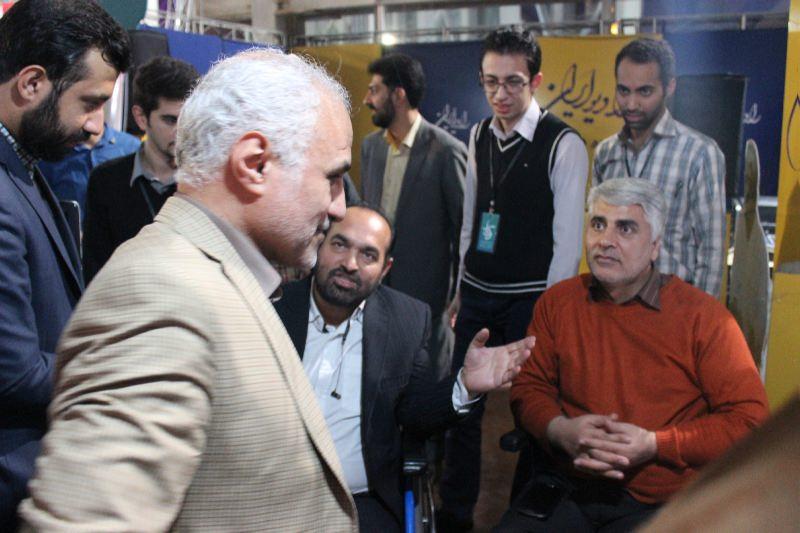 10306 حضور استاد حسن عباسی در غرفه فاش نیوز در سومین نمایشگاه رسانههای دیجیتال انقلاب اسلامی