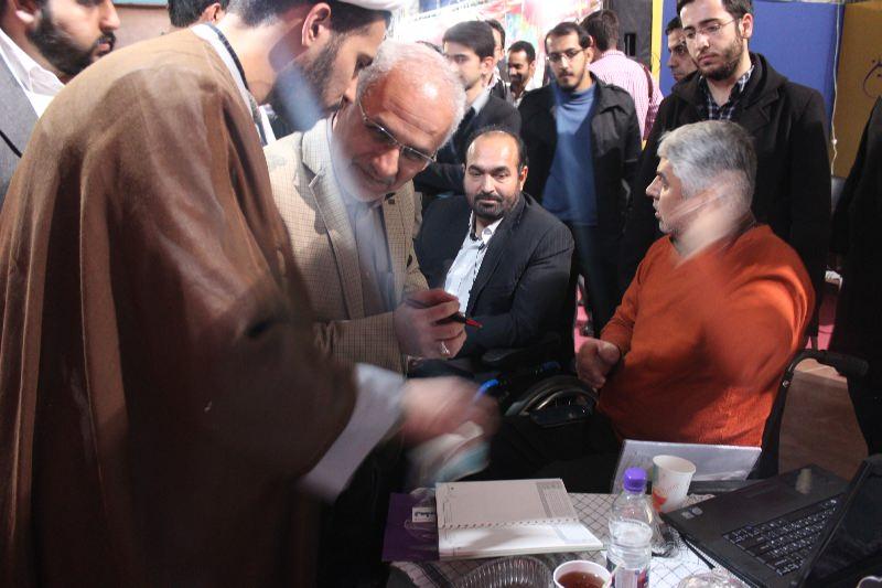 10309 حضور استاد حسن عباسی در غرفه فاش نیوز در سومین نمایشگاه رسانههای دیجیتال انقلاب اسلامی
