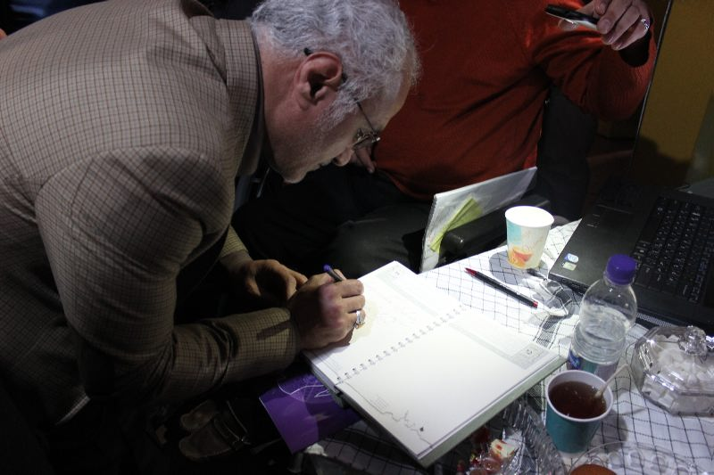 10311 حضور استاد حسن عباسی در غرفه فاش نیوز در سومین نمایشگاه رسانههای دیجیتال انقلاب اسلامی