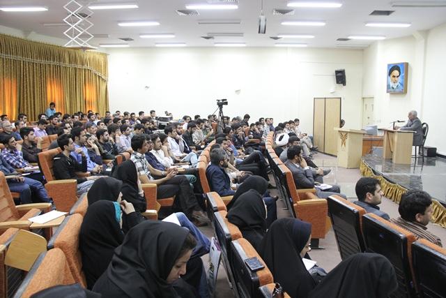 سخنرانی استاد حسن عباسی در دانشگاه آزاد اسلامی همدان – ایران ۱۴۱۴ در جهان ۲۰۳۵