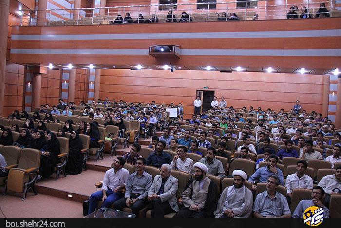 IMG00 گزارش تصویری؛سخنرانی استاد حسن عباسی با موضوع ایران ۱۴۱۴ در جهان ۲۰۳۵