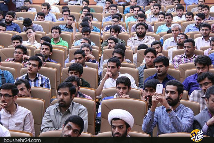 IMG03 گزارش تصویری؛سخنرانی استاد حسن عباسی با موضوع ایران ۱۴۱۴ در جهان ۲۰۳۵