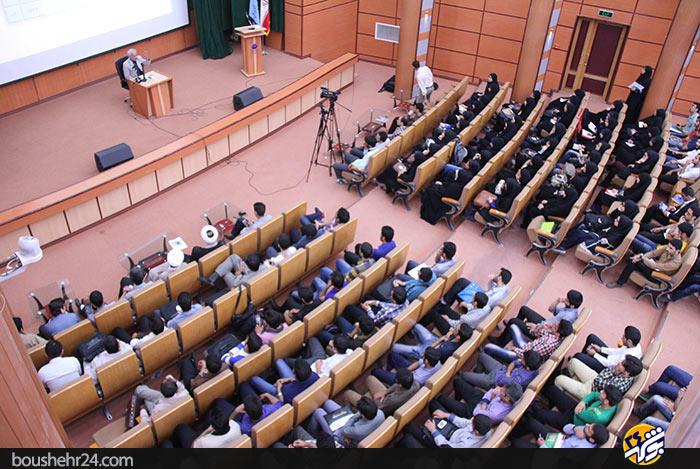 IMG13 گزارش تصویری؛سخنرانی استاد حسن عباسی با موضوع ایران ۱۴۱۴ در جهان ۲۰۳۵