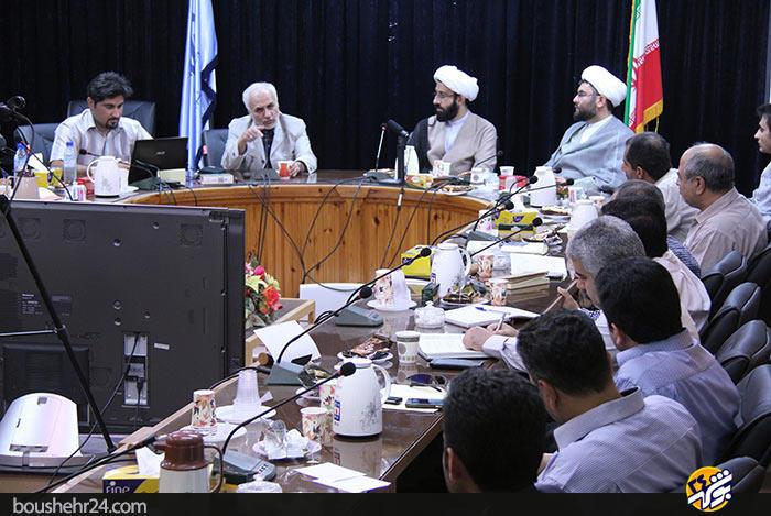 IMG04 گزارش تصویری؛دیدار استاد حسن عباسی با اساتید دانشگاه خلیج فارس