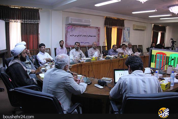 IMG09 گزارش تصویری؛دیدار استاد حسن عباسی با اساتید دانشگاه خلیج فارس