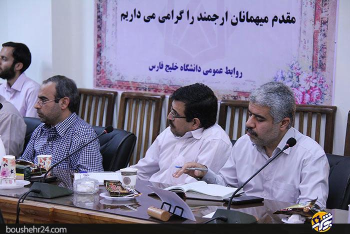 IMG10 گزارش تصویری؛دیدار استاد حسن عباسی با اساتید دانشگاه خلیج فارس