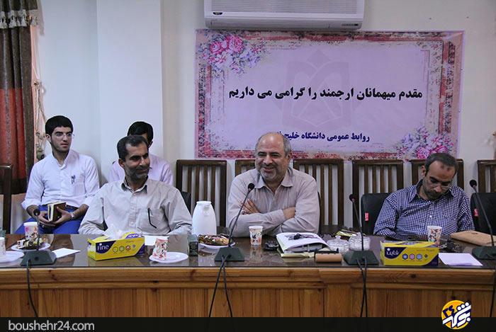IMG12 گزارش تصویری؛دیدار استاد حسن عباسی با اساتید دانشگاه خلیج فارس