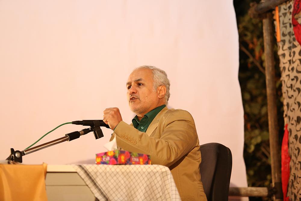 IMG 3613 گزارش تصویری؛ سخنرانی استاد حسن عباسی در مراسم بزرگداشت شهید حجتالاسلام حاج حسین اسکندری