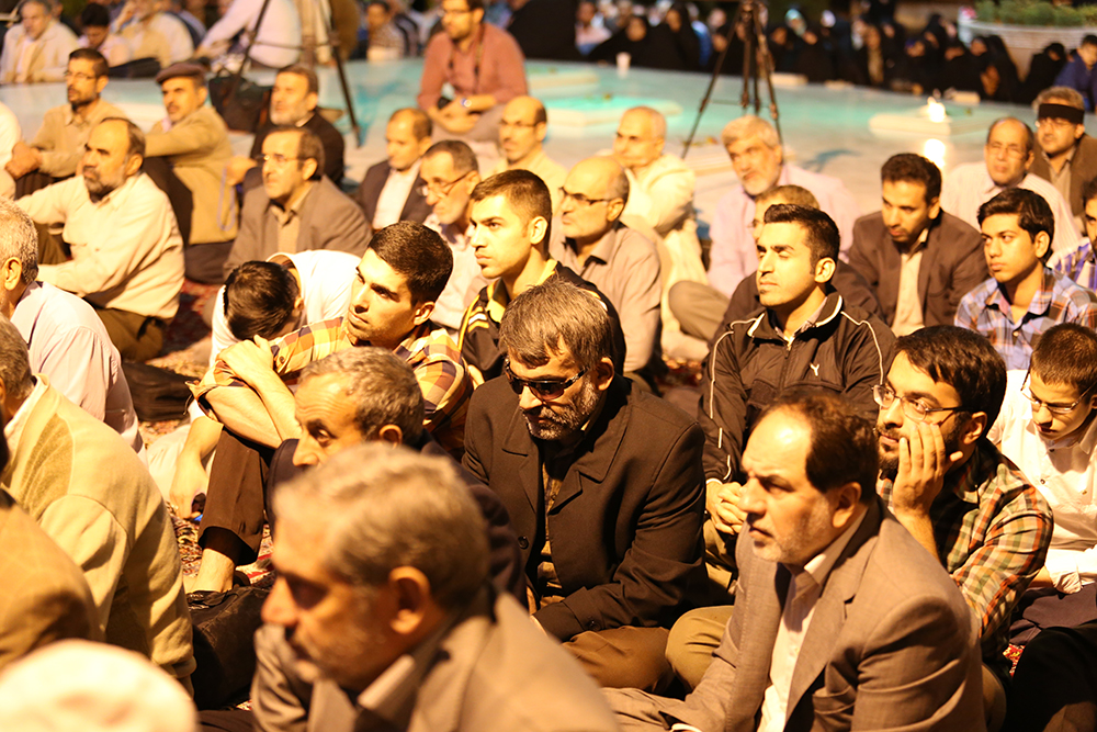 IMG 3622 گزارش تصویری؛ سخنرانی استاد حسن عباسی در مراسم بزرگداشت شهید حجتالاسلام حاج حسین اسکندری