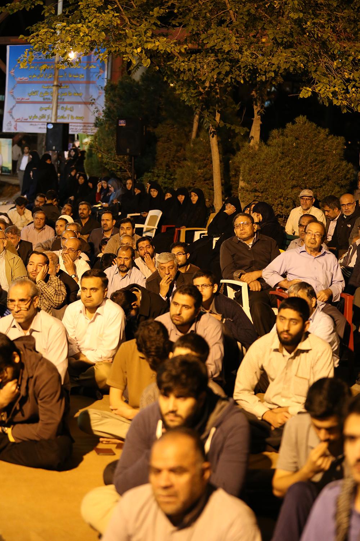 IMG 3623 گزارش تصویری؛ سخنرانی استاد حسن عباسی در مراسم بزرگداشت شهید حجتالاسلام حاج حسین اسکندری