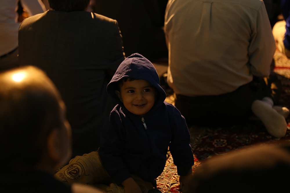 IMG 3672 گزارش تصویری؛ سخنرانی استاد حسن عباسی در مراسم بزرگداشت شهید حجتالاسلام حاج حسین اسکندری
