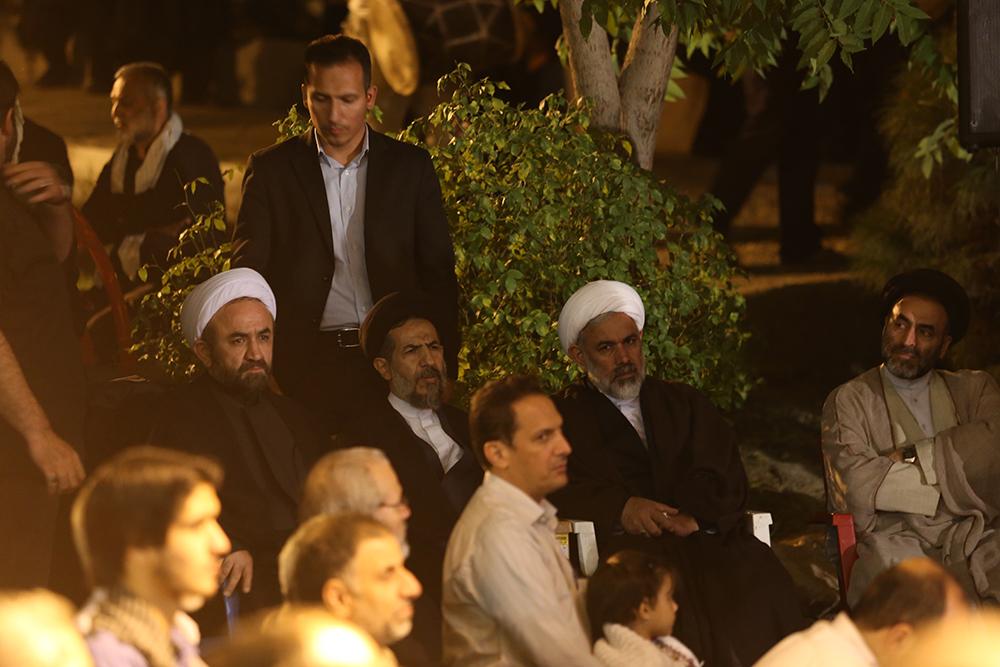 IMG 3673 گزارش تصویری؛ سخنرانی استاد حسن عباسی در مراسم بزرگداشت شهید حجتالاسلام حاج حسین اسکندری