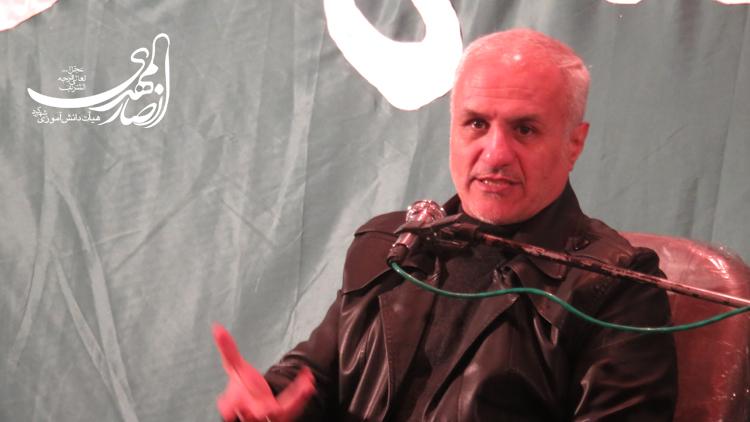 سخنرانی استاد حسن عباسی با موضوع انسان طراز در ادب اسلامی