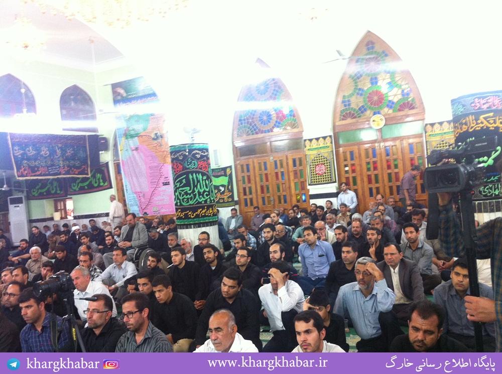 سخنرانی استاد حسن عباسی در مسجد توحید بوشهر - نقطه مقابل دشمن