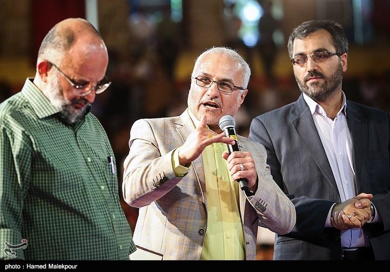 139502302235021187734014 حضور استاد حسن عباسی در جشن سهسالگی طنز سیاسی دکتر سلام