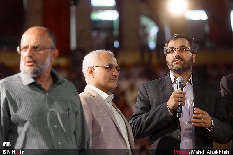 IMG22183565 حضور استاد حسن عباسی در جشن سهسالگی طنز سیاسی دکتر سلام
