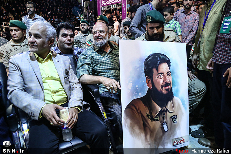 IMG22282303 حضور استاد حسن عباسی در جشن سهسالگی طنز سیاسی دکتر سلام