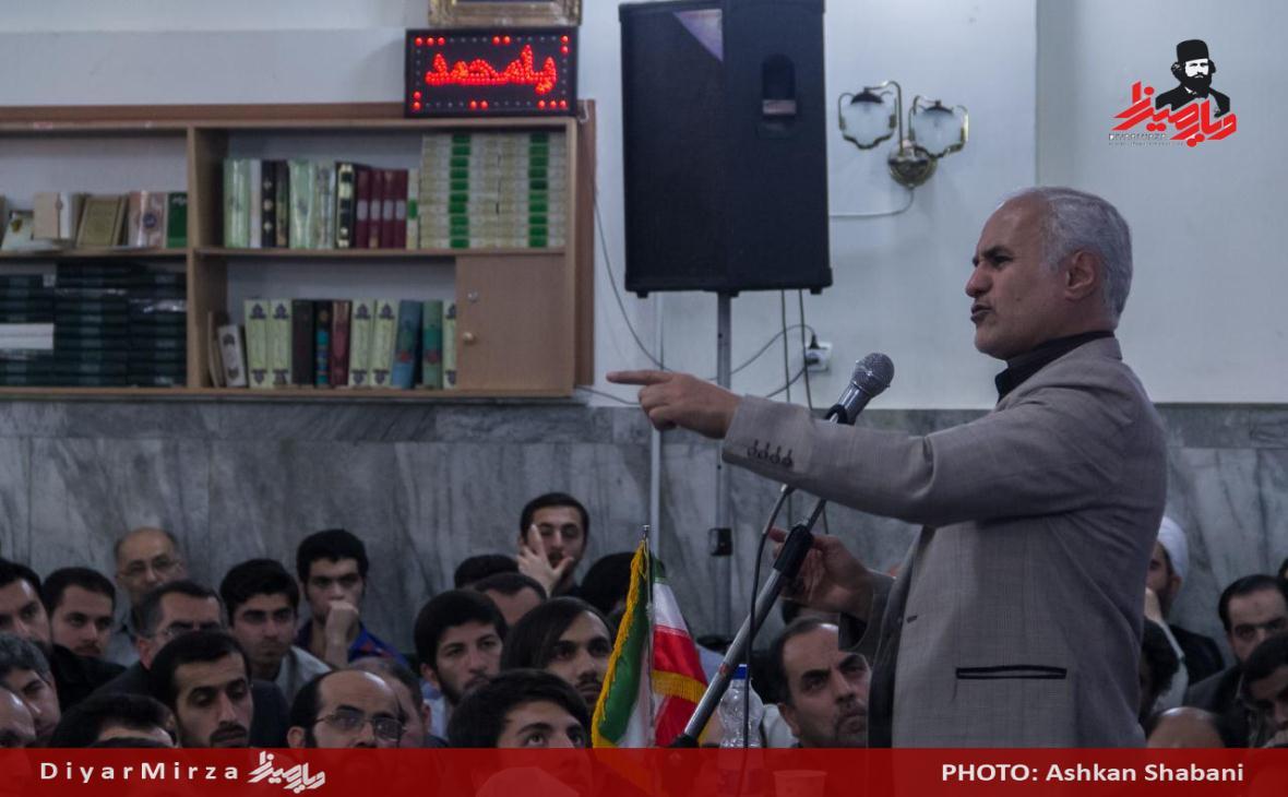 سخنرانی استاد حسن عباسی در رشت - اقدام نامتقارن و جهادکبیر