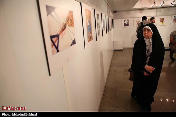 140063 نقل از عکسی؛ سخنرانی استاد حسن عباسی در اختتامیه دومین جشنواره بین المللی کاریکاتور «هولوکاست»