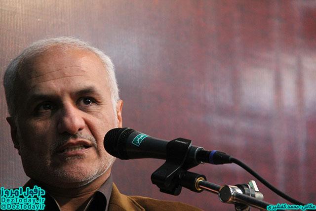 سخنرانی استاد حسن عباسی در مسجد شهید توتونچی دزفول - تقابل اسلام آمریکایی با اسلام ناب محمدی (ص)