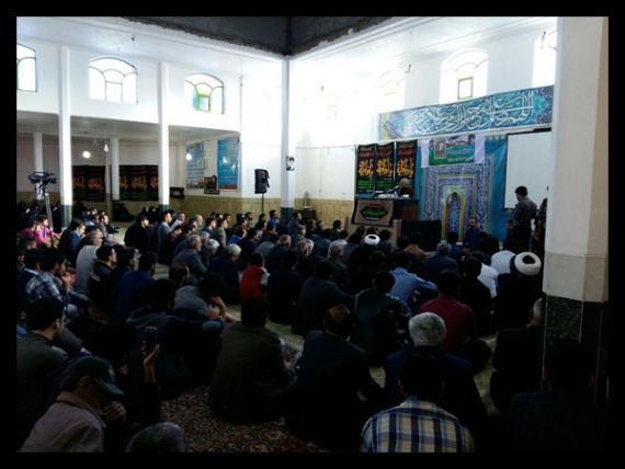 سخنرانی استاد حسن عباسی در مسجد النبی(ص) دهدشت - شوق عدالت
