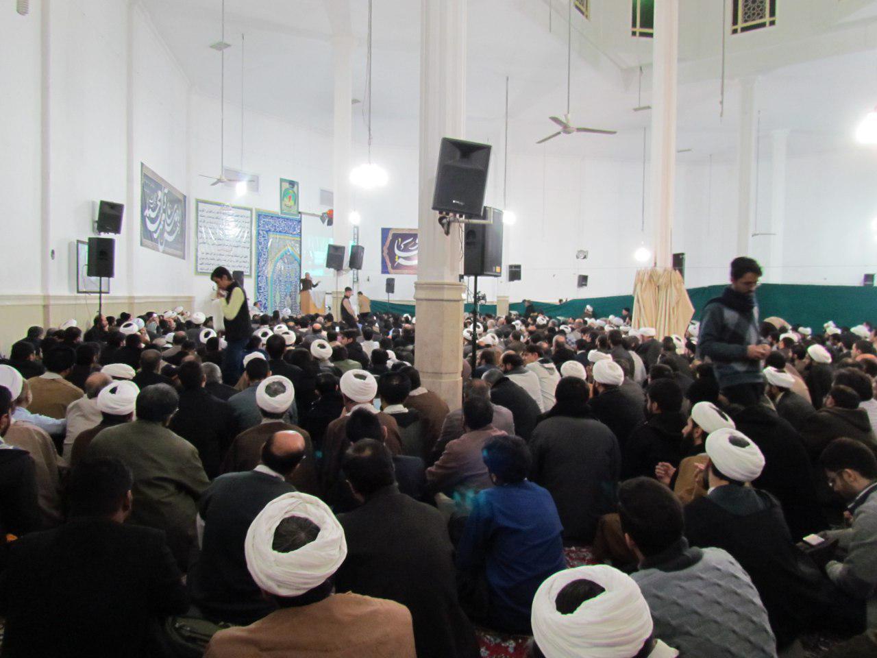 سخنرانی استاد حسن عباسی در مسجد جامع خاتم الانبیا (ص) قم - لیبرالها به بهشت نمیروند