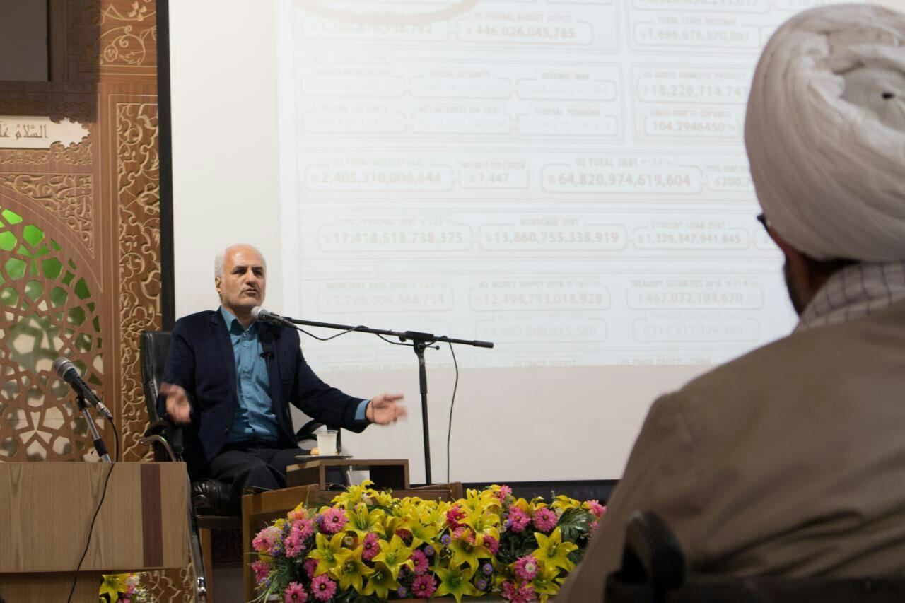 سخنرانی استاد حسن عباسی در حرم حضرت معصومه(س) - جنگی که نمی بینیم