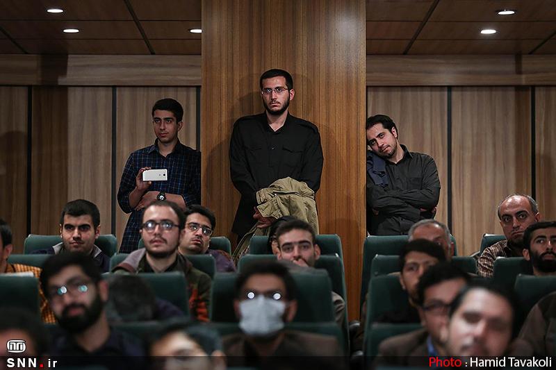 سخنرانی استاد حسن عباسی در حوزه هنری - رونمایی از مستند «نیمه شب ۲۴ آوریل»
