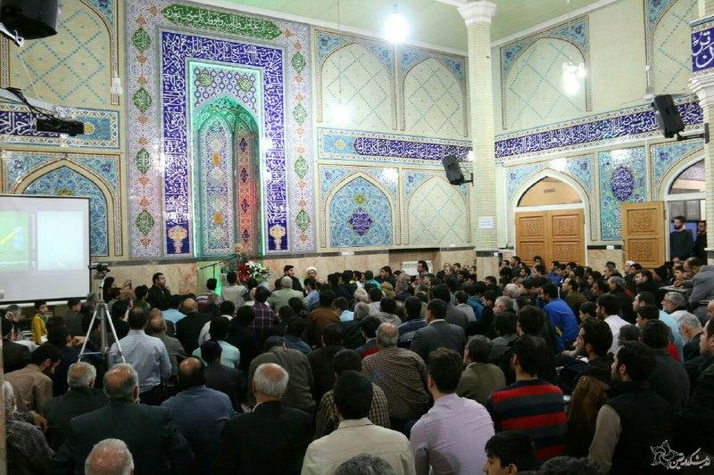 سخنرانی استاد حسن عباسی در مسجد صاحب الزمان (عج) - شورای انقلاب، بدون روتوش