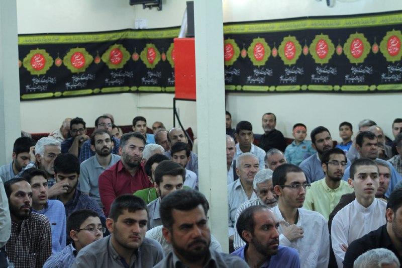 سخنرانی استاد حسن عباسی در مسجد قمر بنی هاشم (ع) تهران - یادواره شهدا