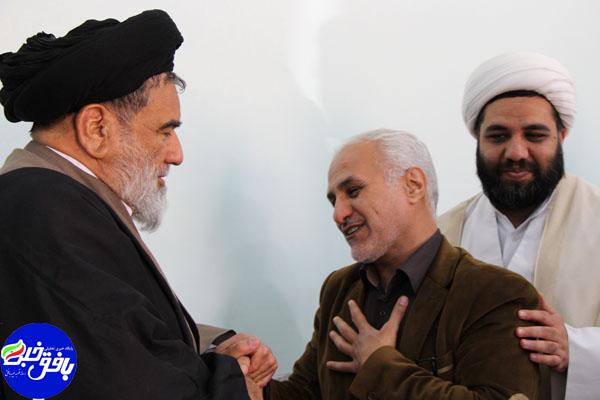 دیدار استاد حسن عباسی با امام جمعه بافق