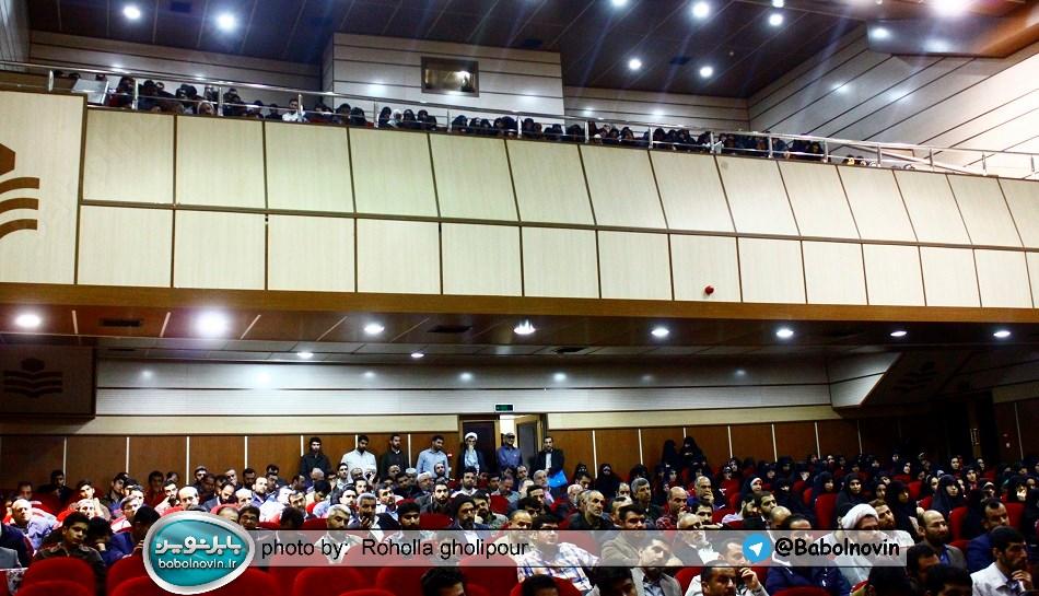 8 4 به گفته عکسی؛ سخنرانی استاد حسن عباسی با موضوع استراتژی کودک و همچنین تمدن نوین اسلامی
