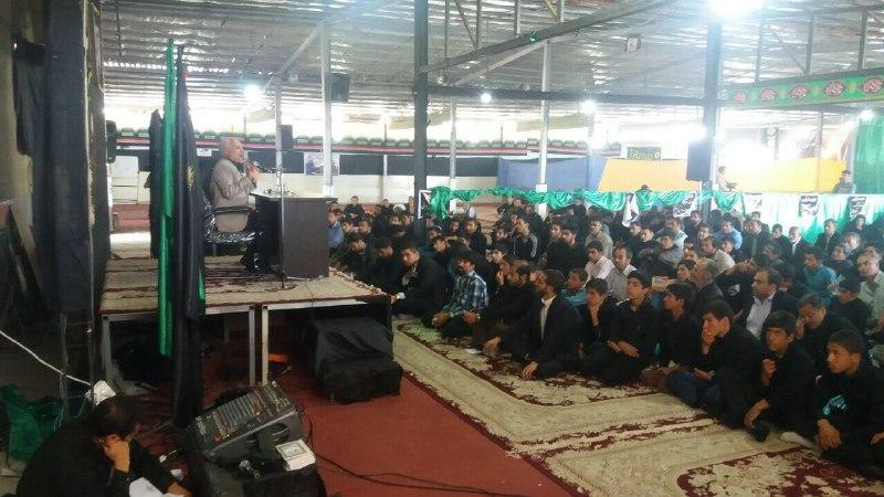 سخنرانی استاد حسن عباسی در حسینیه ثارالله شهرستان بافت
