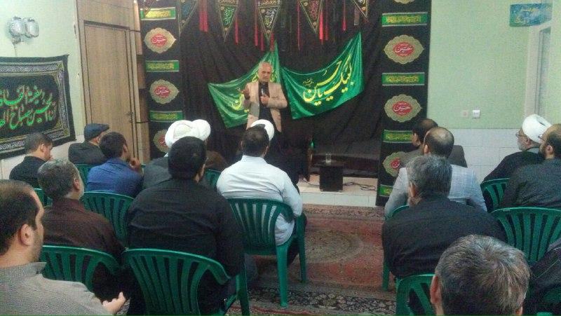 سخنرانی استاد حسن عباسی در جمع فعالان عرصه تعلیم و تربیت استان کرمان در موسسه فرهنگی عمار