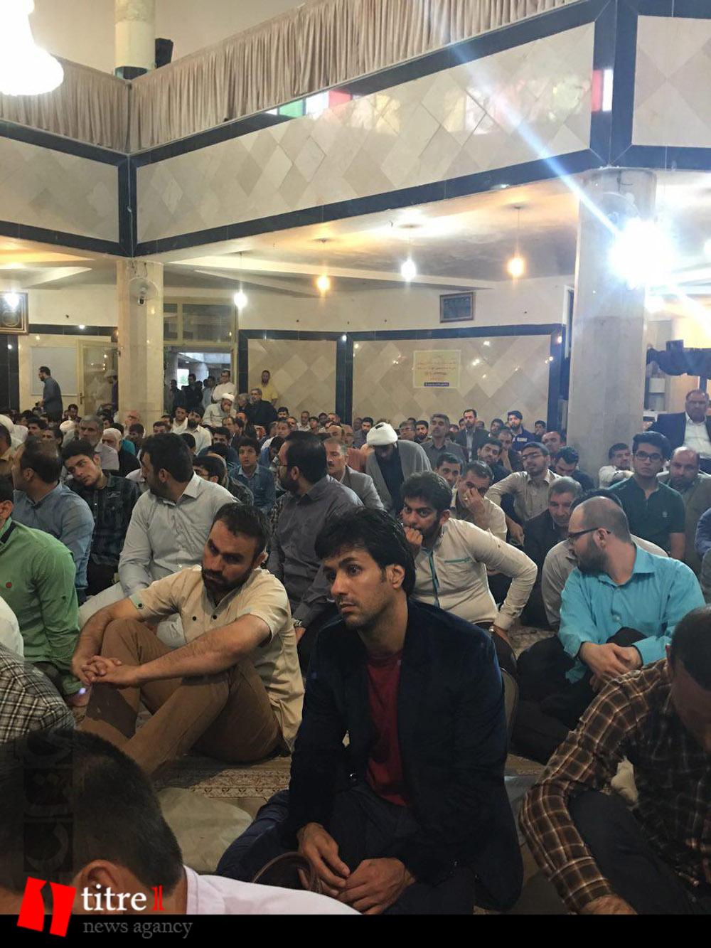 335229 395 نقل از عکسی؛ سخنرانی استاد حسن عباسی در مراسم اولین سالگرد شهید مدافع حرم حاج سعید قارلقی
