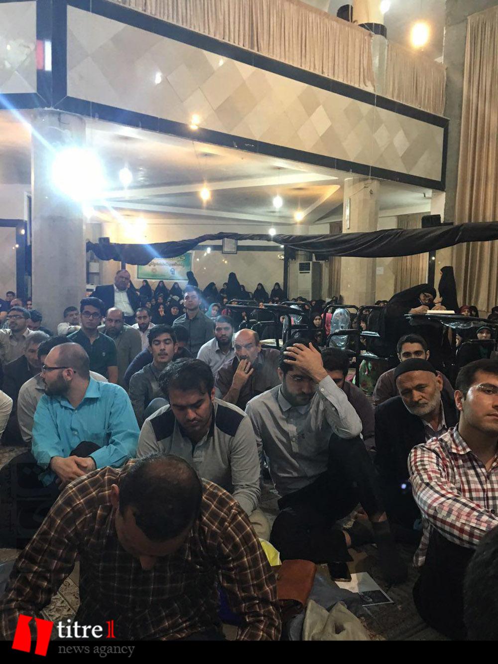 335230 521 نقل از عکسی؛ سخنرانی استاد حسن عباسی در مراسم اولین سالگرد شهید مدافع حرم حاج سعید قارلقی
