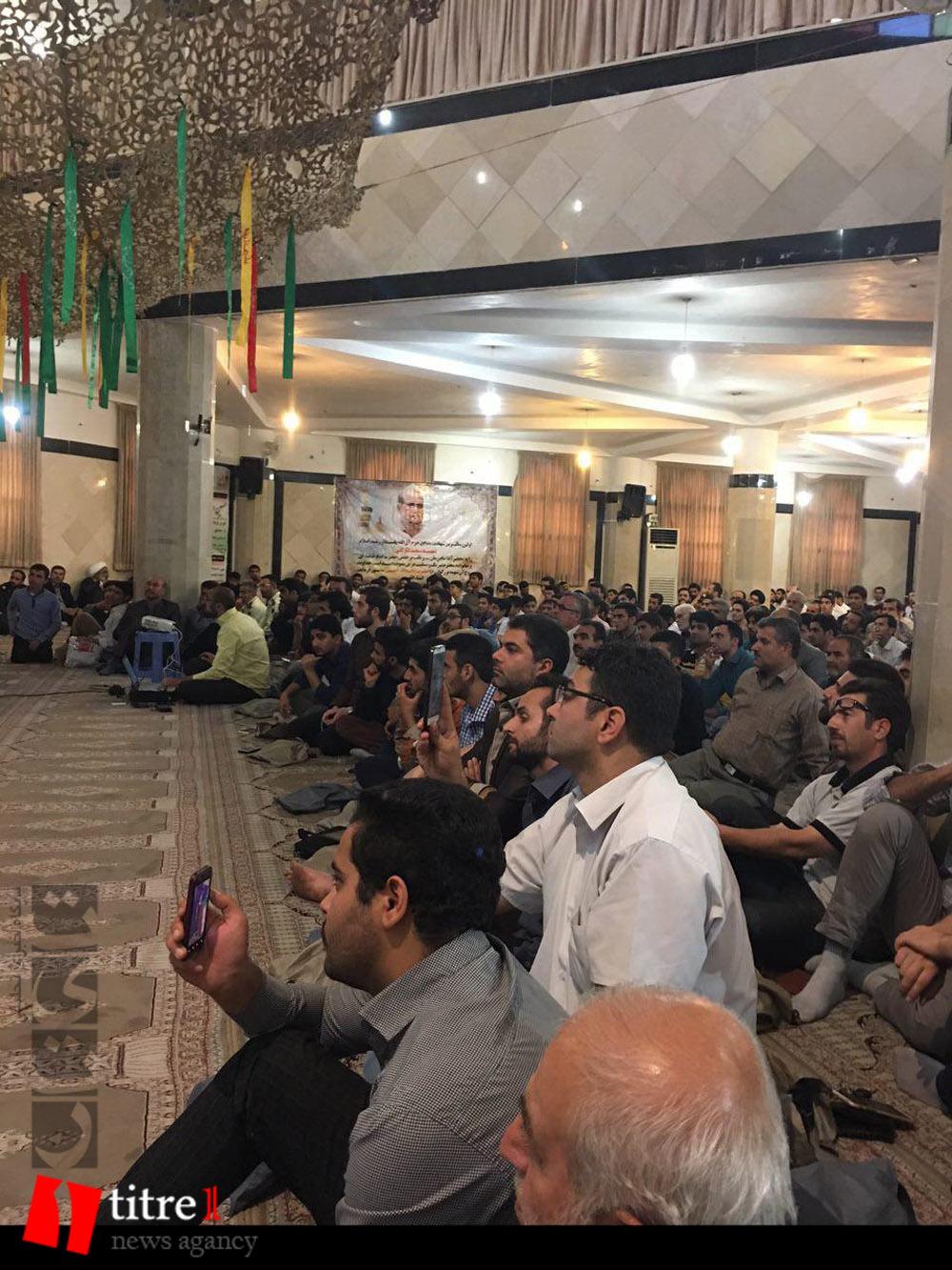 335231 831 نقل از عکسی؛ سخنرانی استاد حسن عباسی در مراسم اولین سالگرد شهید مدافع حرم حاج سعید قارلقی
