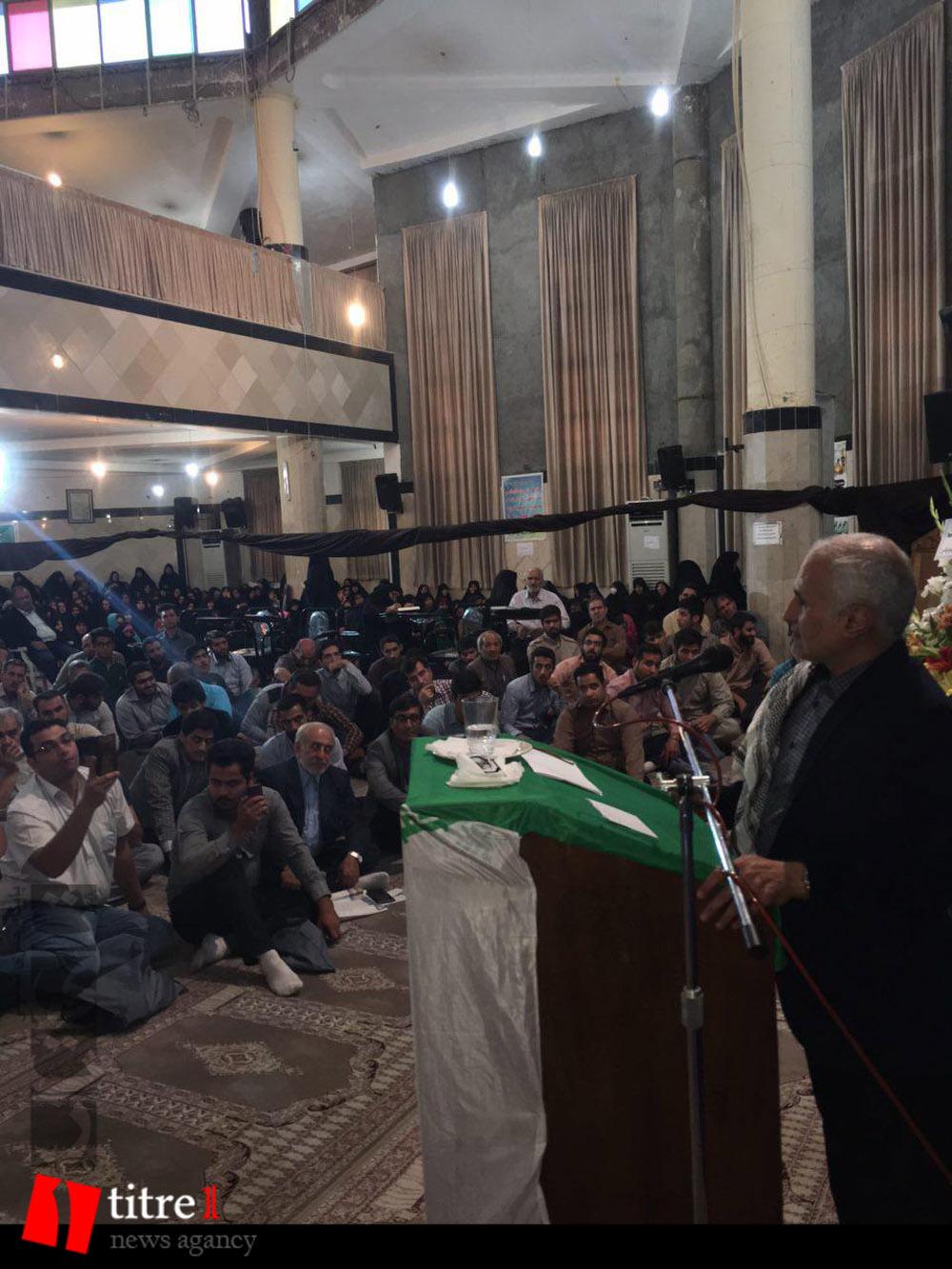 335232 433 نقل از عکسی؛ سخنرانی استاد حسن عباسی در مراسم اولین سالگرد شهید مدافع حرم حاج سعید قارلقی