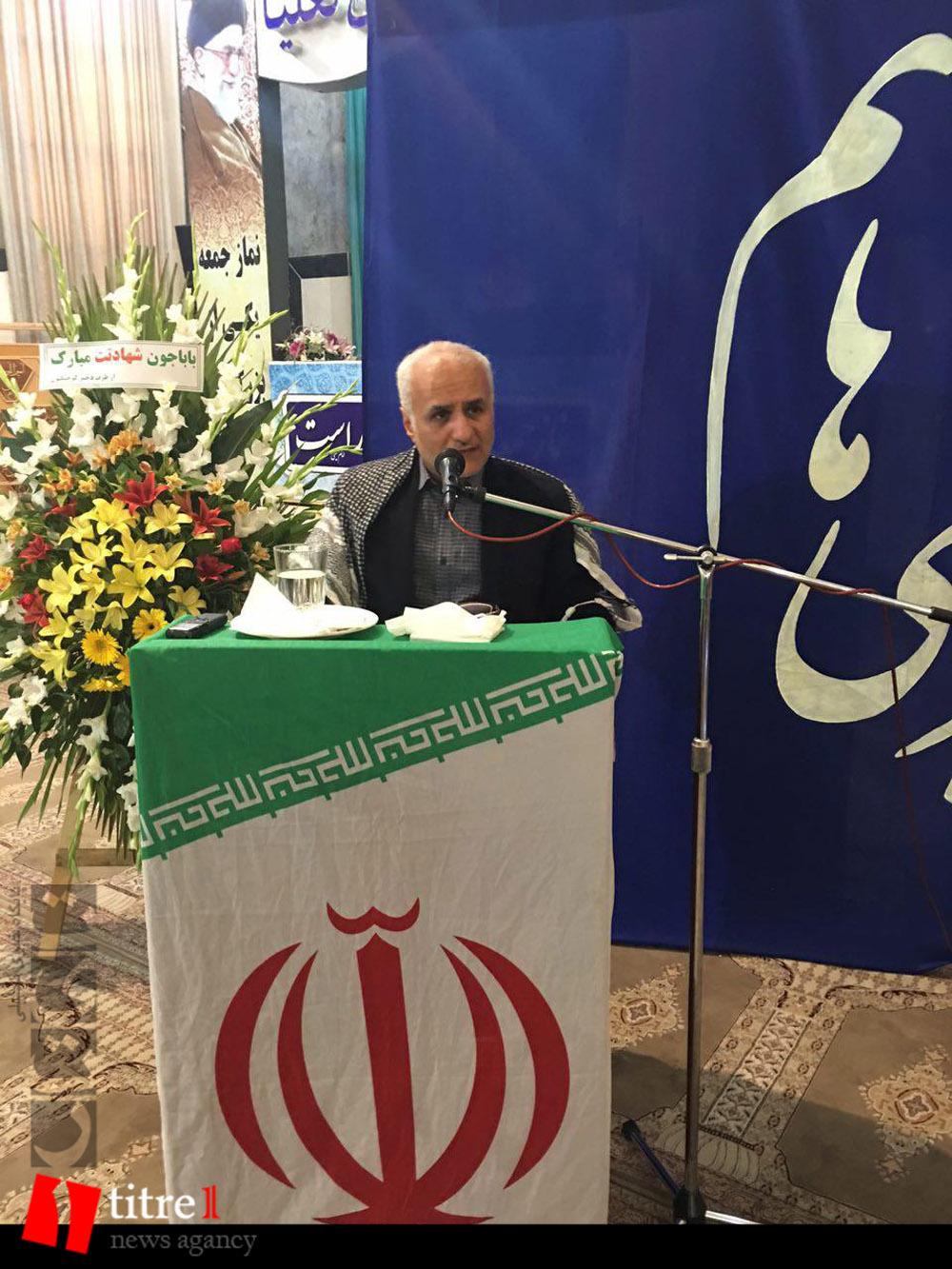 335233 651 نقل از عکسی؛ سخنرانی استاد حسن عباسی در مراسم اولین سالگرد شهید مدافع حرم حاج سعید قارلقی