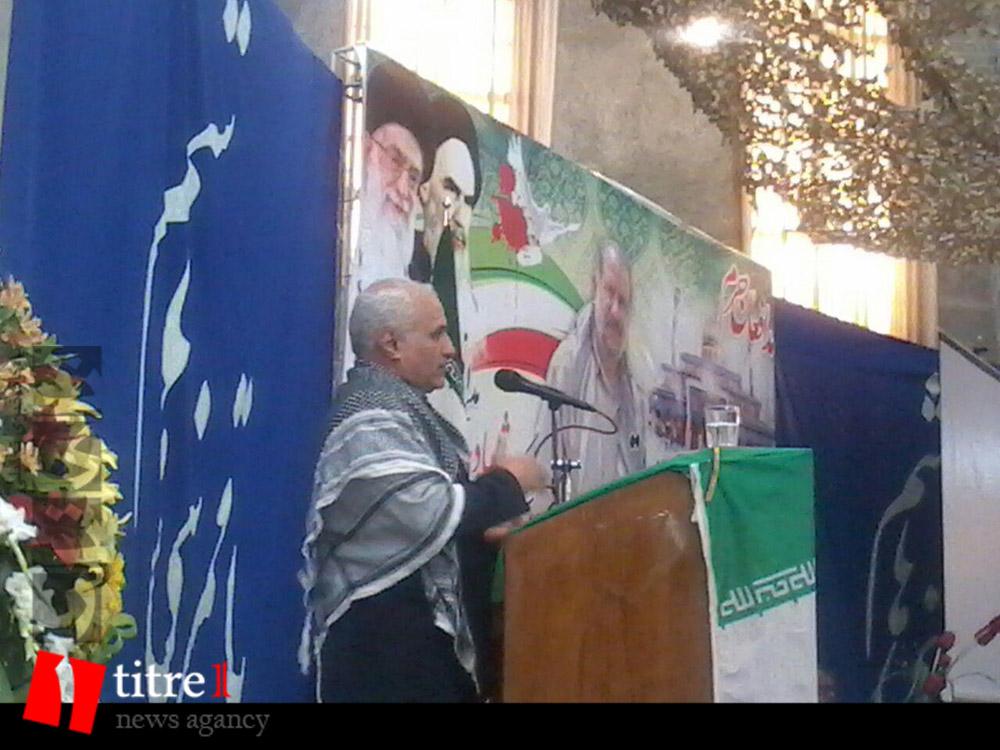 335234 664 نقل از عکسی؛ سخنرانی استاد حسن عباسی در مراسم اولین سالگرد شهید مدافع حرم حاج سعید قارلقی