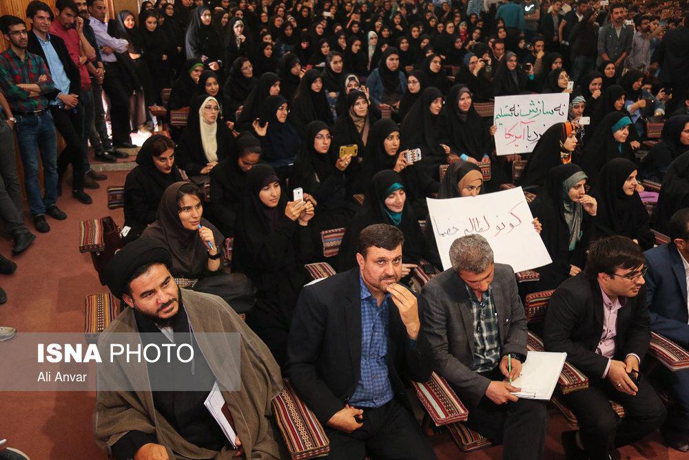 سخنرانی استاد حسن عباسی در دانشگاه محقق اردبیلی - دولت تراز انقلاب اسلامی